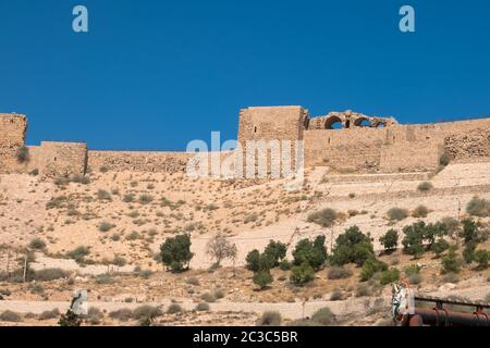 Al Karak, Jordan, Middle East - Stock Photo