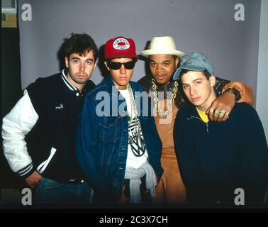 Beastie Boys 1988 - Stock Photo