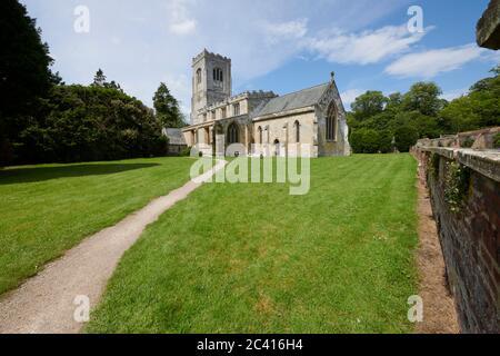 St Martin's Church, Burton Agnes, East Yorkshire, England, UK, GB.