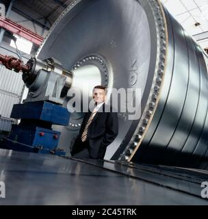 Dr. Hans-Peter Sollinger - Managing Director of Voith AG - Stock Photo