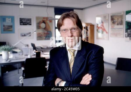 Klaus Dieter Frers - CEO of Paragon AG - Stock Photo