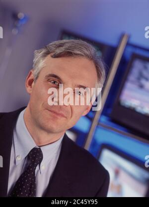 Urs Rohner - CEO of Pro7 Media AG - Stock Photo