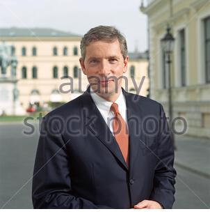 Klaus Kleinfeld - Ex-Siemens - Manager - Stock Photo