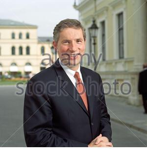 Klaus Kleinfeld - ex Siemens manager - Stock Photo