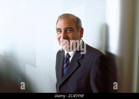 Rolf Zimmermann - Former head of FORD - Stock Photo