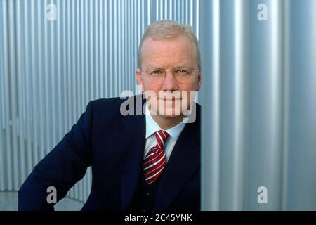 Dr. Klaus Eierhoff - former board member of Bertelsmann AG - Stock Photo