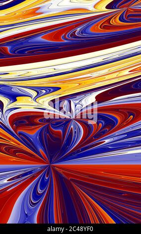 Abstract meditative color fractal background - Stock Photo