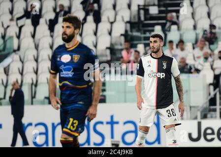 Simone Muratore Of Juventus In Action During The The Serie A Football Match Juventus Fc Vs Lecce Juventus Won 4 0 At Allianz Stadium In Turin Italy Stock Photo Alamy