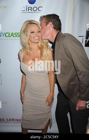 Manhattan, United States Of America. 23rd Oct, 2012. NEW YORK, NY - OCTOBER 23: Pamela Anderson attends 'A Night of New York Class' on October 23, 2012 in New York City. People: Pamela Anderson Credit: Storms Media Group/Alamy Live News - Stock Photo