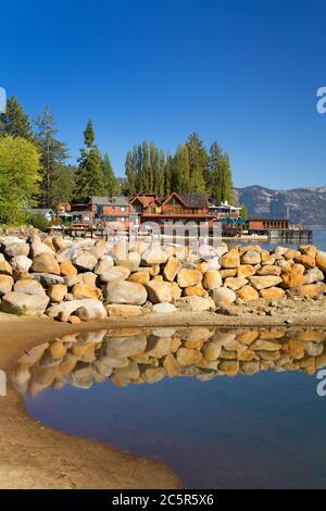 Tahoe Vista Recreation Area, Lake Tahoe, California, USA - Stock Photo