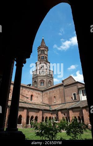 Italy, Lombardy, Milan, Chiaravalle Abbey