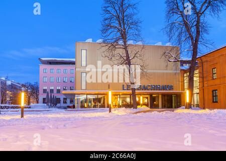 Lenbachhaus in Munich, Upper Bavaria, Bavaria, Southern Germany, Germany, Europe - Stock Photo