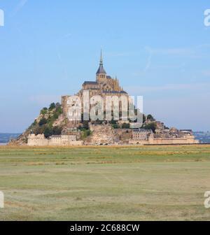 Day shot of Mont Saint Michel, Normandy, France