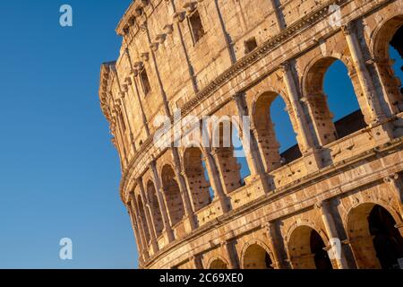 Italy, Lazio, Rome, Colosseum