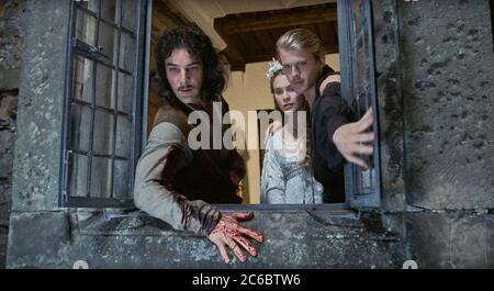 USA.  Mandy Patinkin ,  Robin Wright and Cary Elwes in a scene from the ©Twentieth Century Fox movie:  The Princess Bride (1987) . Plot: While home sick in bed, a young boy's grandfather reads him the story of a farmboy-turned-pirate who encounters numerous obstacles, enemies and allies in his quest to be reunited with his true love.   Ref: LMK110-J6628-010720 Supplied by LMKMEDIA. Editorial Only. Landmark Media is not the copyright owner of these Film or TV stills but provides a service only for recognised Media outlets. pictures@lmkmedia.com