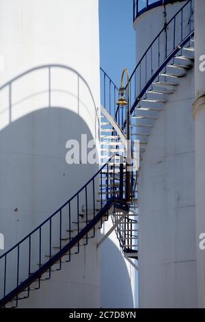 Refinery in Aspropyrgos, Attica, Greece.