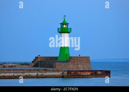 Germany, Mecklenburg-West Pomerania, Baltic Sea, Ruegen Isle, Sassnitz, lighthouse.