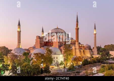 Hagia Sophia, Ayasofya Müzesi, Istanbul - Stock Photo