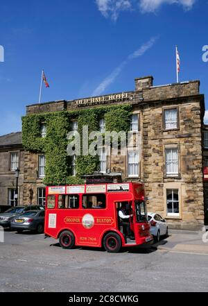 Spa town of Buxton in the Peak District Derbyshire England