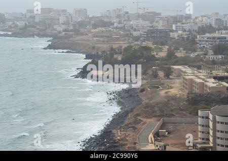 Oil-fuelled building boom in Dakar, Senegal