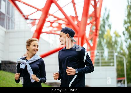 leisure activity. sport, fitness concept. ambitious people are good at sport. close up side view shot