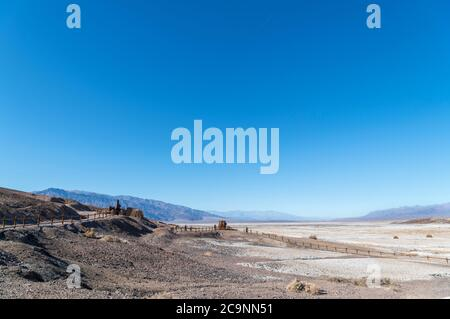 Harmony Borax Works, Furnace Creek, Death Valley National Park, California, USA - Stock Photo