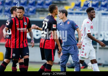 Niko Kovac (coach, M) says goodbye with a laughs after the press ...