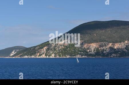 Fiskardo, Cephalonia, Greece - Stock Photo