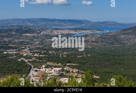 Castle of Saint George, Kastro, Cephalonia, Greece - Stock Photo