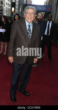 Manhattan, United States Of America. 13th Dec, 2015. NEW YORK, NY - DECEMBER 11: Tony Bennett attend Billboard's 10th Annual Women In Music at Cipriani 42nd Street on December 11, 2015 in New York City. People: Tony Bennett Credit: Storms Media Group/Alamy Live News Stock Photo
