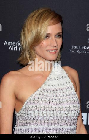 LOS ANGELES - JAN 6:  Diane Kruger at the 2018 BAFTA Tea Party Arrivals at the Four Seasons Hotel Los Angeles on January 6, 2018 in Beverly Hills, CA - Stock Photo