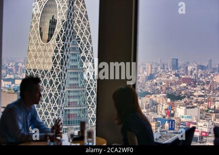 City View, Cocoon Tower, Keio Plaza Hotel, Shinjuku district, Tokyo, Japan
