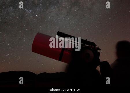 """""""Astronomy Tourism"""" - Observatorio del Pangue, near Vicuna, La Serena, central Chile 12 Oct 2017"""