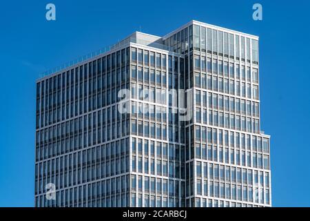 Hamburg, Germany 10.03.2018, business building of IP Deutschland GmbH, branch office Hamburg at Überseealle 10 in HafenCity. - Stock Photo