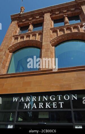 Warrington Market, Time Square development, Warrington Town Centre,Cheshire,England,UK - Stock Photo