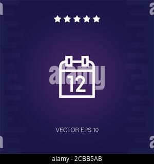 russia day vector icon modern illustration - Stock Photo
