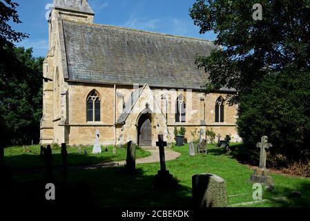 St Matthew's Church in the village of Naburn, North Yorkshire, England UK - Stock Photo