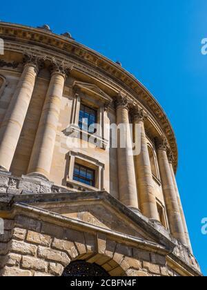 Radcliffe Camera, Reading Library, University of Oxford, Oxfordshire, England, UK, GB. Stock Photo