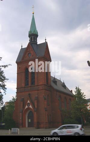 Die evangelische Melanchthon-Kirche wurde am 15. Dezember 1893 am Melanchthonplatz im Ortsteil Wilhelmstadt in Spandau eingeweiht