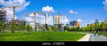 City building aktivity in Berlin