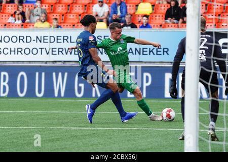 Leeuwarden Netherlands August 1 Kellian Van Der Kaap Thomas Van Den Belt Seen During The Pre Season Match Sc Cambuur V Pec Zwolle On August 1 2 Stock Photo Alamy