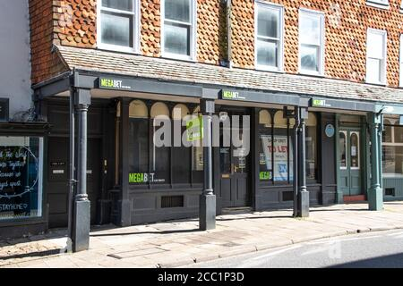 Mega bet on Marlborough high street - Stock Photo