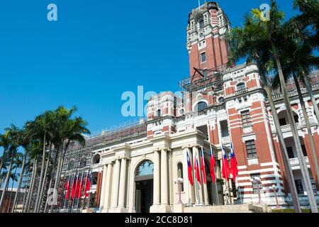 Taipei, Taiwan - Presidential Office Building in Taipei, Taiwan.