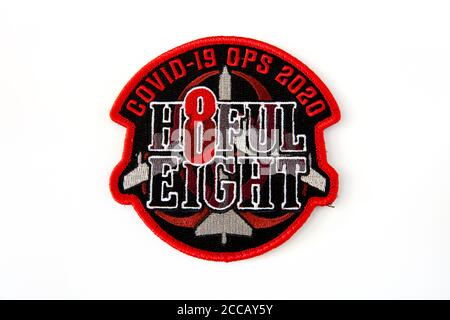 23D Bomb Squadron Crew 8 'H8FUL EIGHT' Covid-19 OPS 2020, Minot Air Force Base