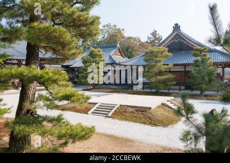 Kyoto, Japan - Daikaku-ji Temple in Kyoto, Japan. The site was originally a residence of Emperor Saga (786-842).