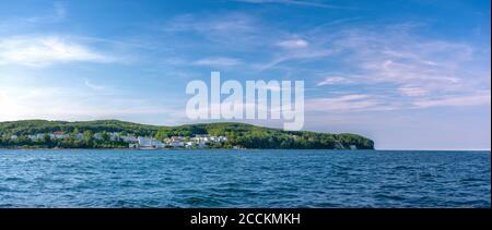 Germany, Mecklenburg-Western Pomerania, Sassnitz, Coastal town on Rugen island