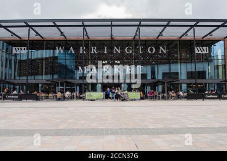 Warrington Market - Stock Photo