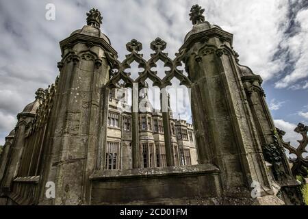 The Orangery at MARGAM COUNTRY PARK, Margam, Port Talbot, Wales, United Kingdom - Stock Photo