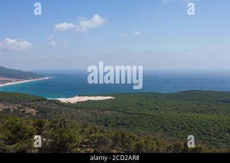 Beautiful shot of Natural Park of Estrecho in Spain - Stock Photo