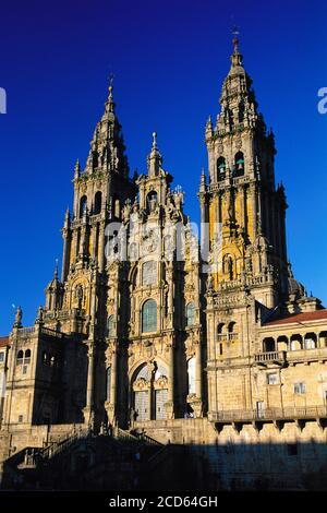 Cathedral of Santiago De Compostela, Galicia, Spain